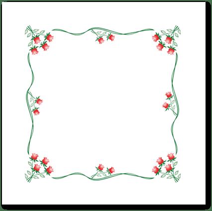 Τραπεζομάντηλο Λουλούδι