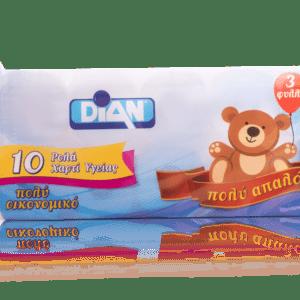 Χαρτί Υγείας DIAN Αρκουδάκι